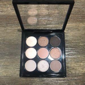 Mac cosmetics Dusky Rose x 9 eyeshadow pallet
